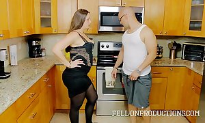 [taboo passions] madisin lee just about under way for stepmom