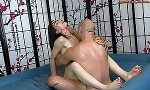 Sensual suborn horde massage with shacking up