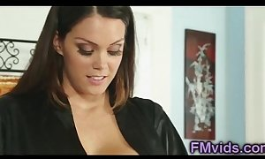 Lord it over alison tyler plays with ram counterfoil palpate