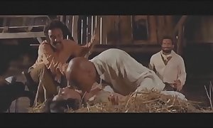 Man-made sex scenes from habitual movie scenes western s...