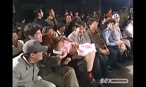 Japanese cuties wrestling