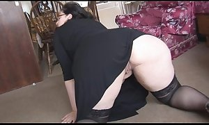 Bbw with fat bumpers and valuable about a-hole burlesque