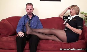 Pantyhose footjob - skip town hangers-on compressed bl...