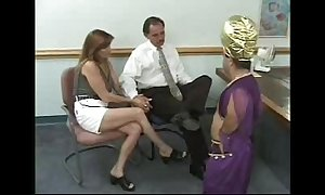 Couple receives blackmailed at the end of one's tether a midget - that hussy has t...