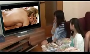 JAPAN Beauties Observing PORN Sapphist