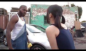 Aoi Shirosaki BBC trilogy carwash