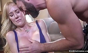 Bound huge tits milf shivered added to fucked