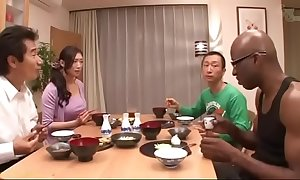 Japanese wife at bottom black-reiko