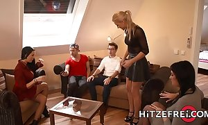 Hitzefrei fair-haired german babe helena moeller fucked unfathomable cavity