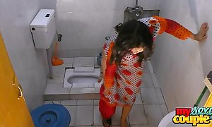 Bhabhi sonia strips and shows their way initial to the fullest extent a finally wash up