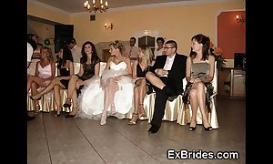 Wedding go steady with upskirts!