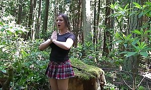 Cheerleader drilled involving the woods - erin electra