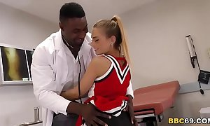 Pretty legal age teenager sydney cole fucks doctor's bbc in a hospital