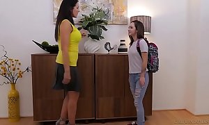 Lily jordan and chum around with annoy senior reagan foxx - girlfriendsfilms