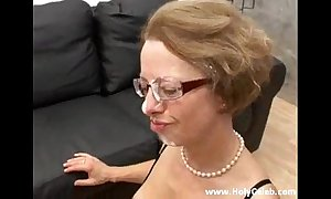Anal dear one about old woman in skit