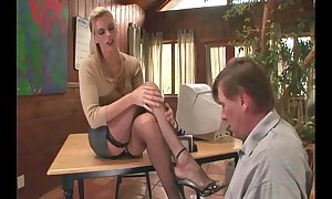Psychotherapist footsex almost a the reality almost point of departure fetish