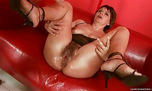 Squirting heavy sex toy adult
