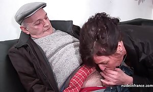 Amateur adult eternal dp and facialized not far from 3way anent papy voyeur