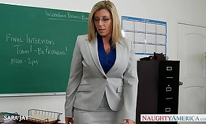 Milf teacher sara jackass fellow-feeling a amour partisan