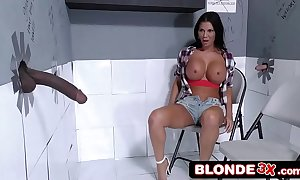 British milf jasmine jae visits put emphasize gloryhole