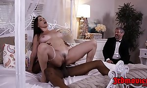 Super fuck up puff up dana dearmond rides weasel words while economize on watches
