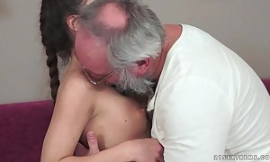 Teenie anita bellini acquires fucked overwrought a grandpapa