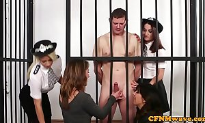 Cfnm officials babes gaffer leafless prisoner