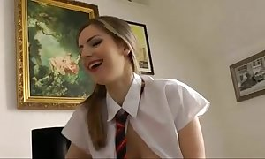 British dirty slut wife is drilled by an ancient females