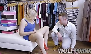 Lickerish saleswoman blair williams show me her adore jade when i consult prices