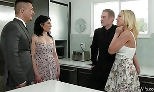 Married slut attempts anal flux